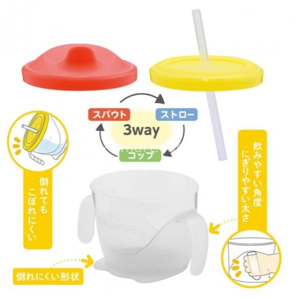 Edison Mama 三種階段訓練杯套裝180ml - Baby Smart 家兒寶寶